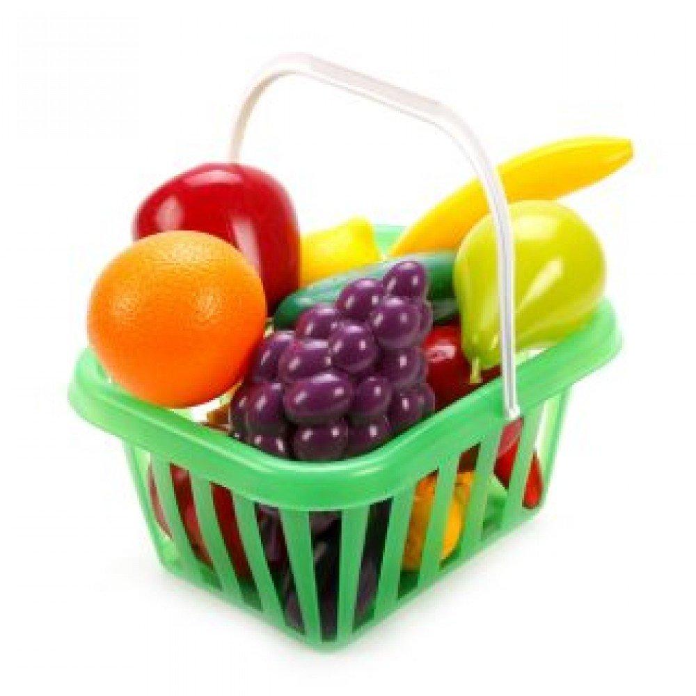 Купить Набор Фрукты и овощи в корзине - Медведь Калуга